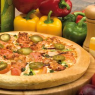 HOT Cajun Chicken Pizza