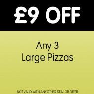 Pizzas Saver Deal