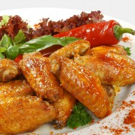 Spicy Chicken Wings or Drumsticks