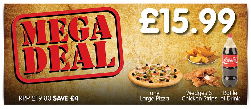 Mega Deal - £10.99!
